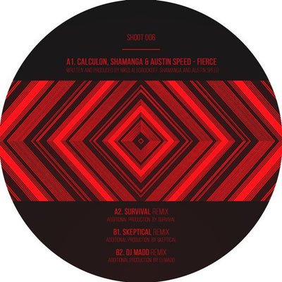 Calculon, Shamanga & Austin Speed - Fierce (w/ Survival, Skeptical & DJ Madd Remixes) - Unearthed Sounds
