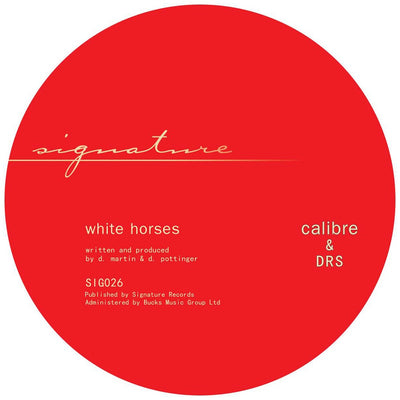 Calibre & DRS - Whitehorses / Living For