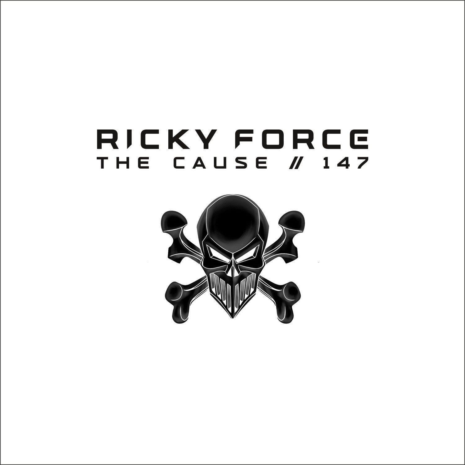 "Ricky Force - The Cause / 147 (10"" White Vinyl w/ Printed Sleeve)"