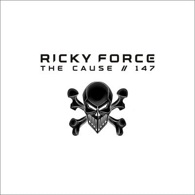 "Ricky Force - The Cause / 147 (10"" White Vinyl w/ Printed Sleeve) - Unearthed Sounds"