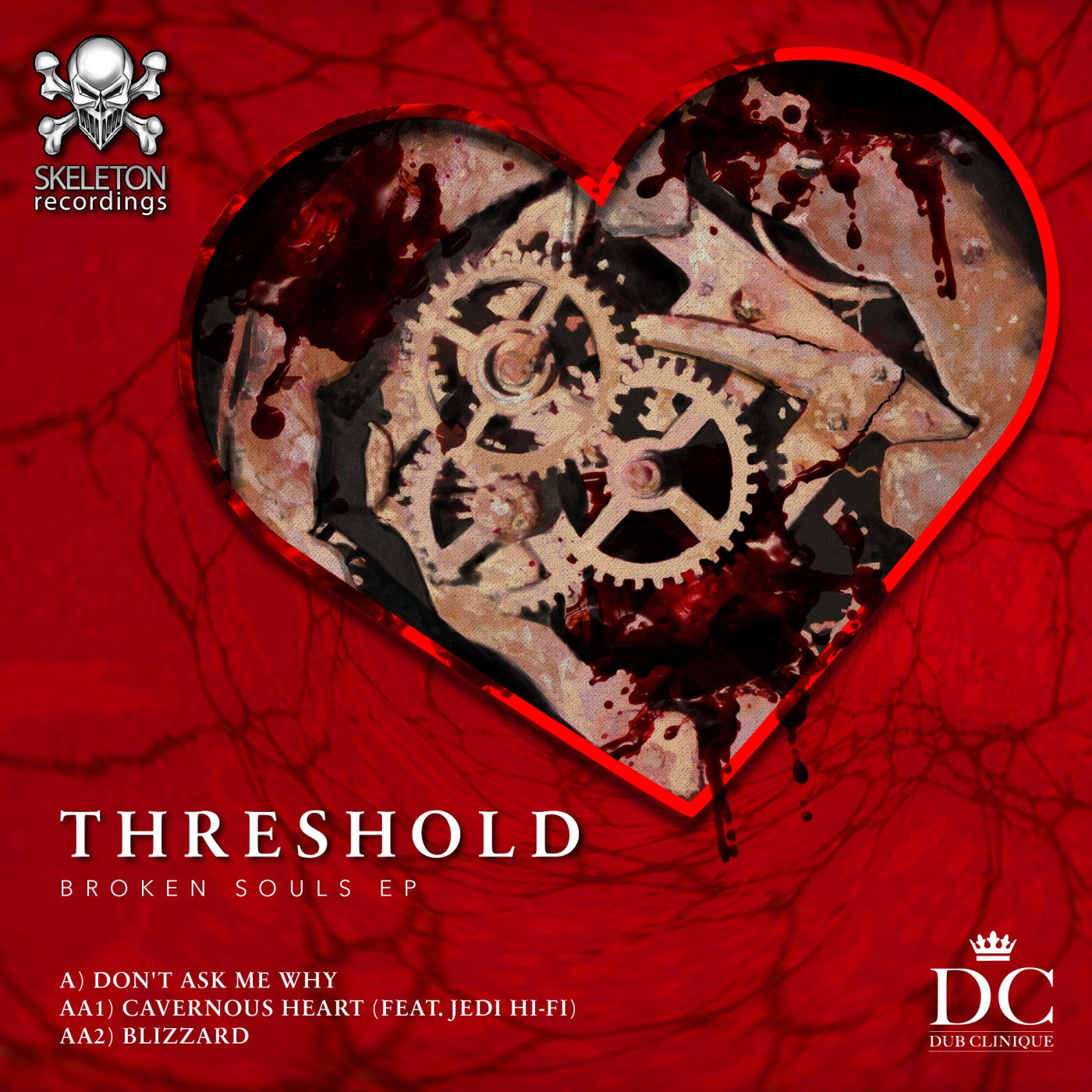 Threshold - Broken Souls EP , Vinyl - Skeleton Recordings, Unearthed Sounds