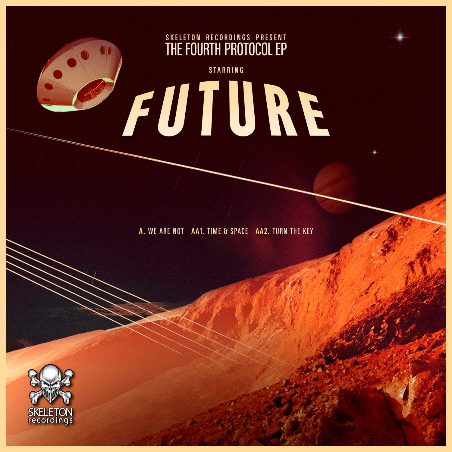 Future - The Fourth Protocol , Vinyl - Skeleton Recordings, Unearthed Sounds