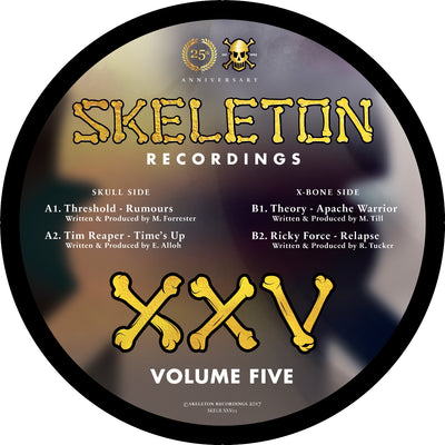 Various Artists - XXV Project: Volume 5 [Picture Disc] - Unearthed Sounds