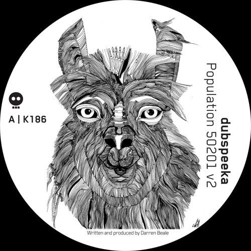 dubspeeka - Population 50201 V2 , Vinyl - skeleton, Unearthed Sounds