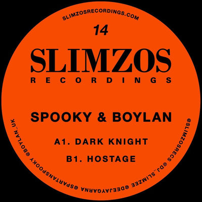 Spooky & Boylan - Dark Knight / Hostage - Unearthed Sounds, Vinyl, Record Store, Vinyl Records
