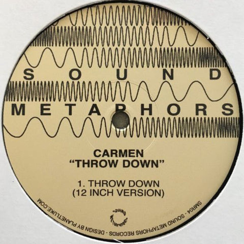 Carmen - Throw Down [1986 Reissue]