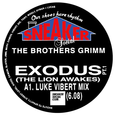 The Brothers Grimm - Exodus (The Lion Awakes) [Luke Vibert & The Maghreban Remixes] - Unearthed Sounds