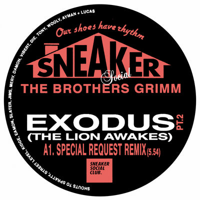 The Brothers Grimm - Exodus (The Lion Awakes) [Special Request & DJ Die / Addison Groove Remixes] - Unearthed Sounds