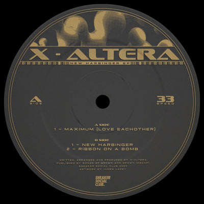 X-Altera - New Harbinger EP - Unearthed Sounds