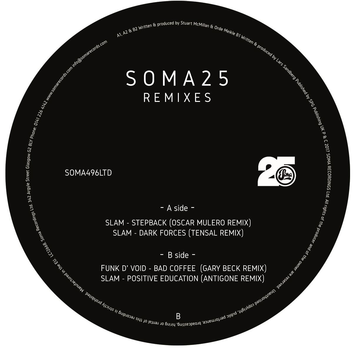 Various Artists - Soma 25 Remixes LTD