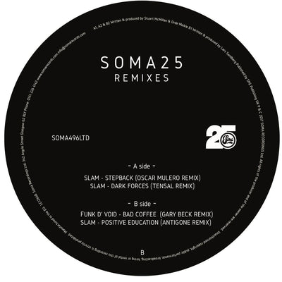 Various Artists - Soma 25 Remixes LTD - Unearthed Sounds