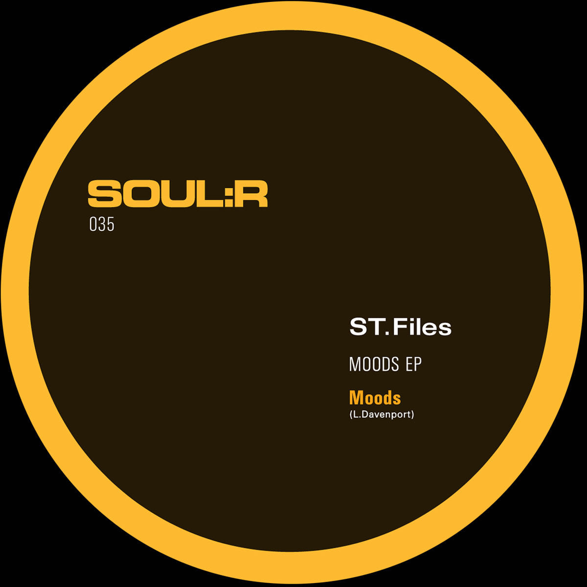 ST. Files - Moods , Vinyl - Soulr, Unearthed Sounds