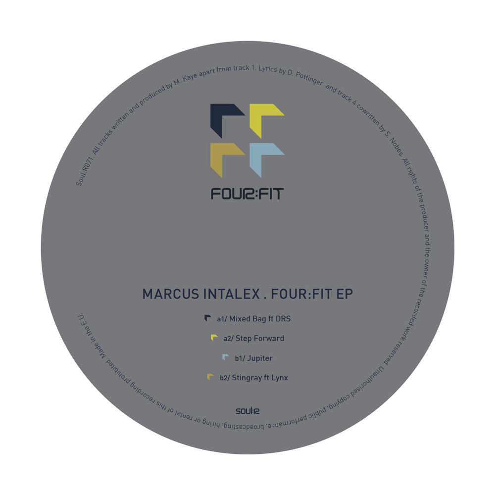 Marcus Intalex - Four:Fit EP , Vinyl - Soulr, Unearthed Sounds