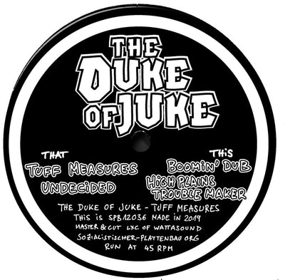 The Duke Of Juke - Dubcore Volume 17 - Unearthed Sounds