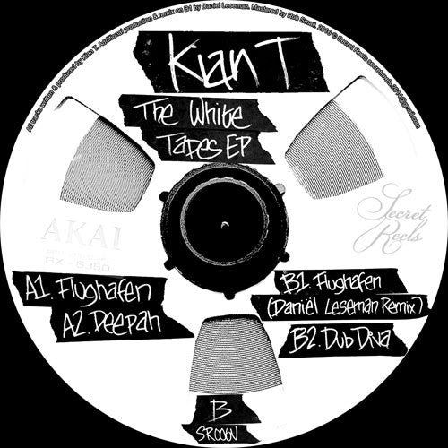 Kian T - The White Tapes EP , Vinyl - Secret Reels, Unearthed Sounds