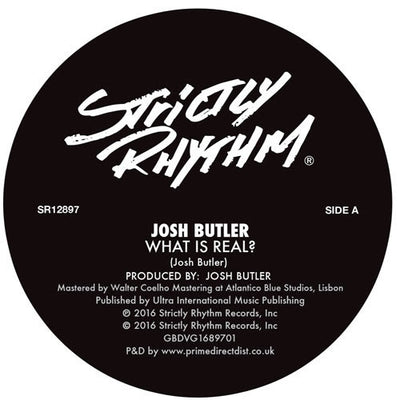 Josh Butler - What Is Real? / Innocence (Featuring Tom Da Lips) - Unearthed Sounds