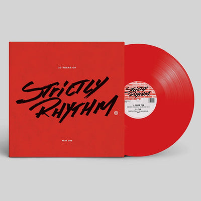 "Various Artists - 30 Years Of Strictly Rhythm - Part One [2 x Red 12"" Vinyl Repress] - Unearthed Sounds"
