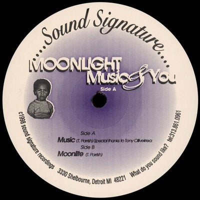 Theo Parrish - Moonlight Music & You - Unearthed Sounds, Vinyl, Record Store, Vinyl Records