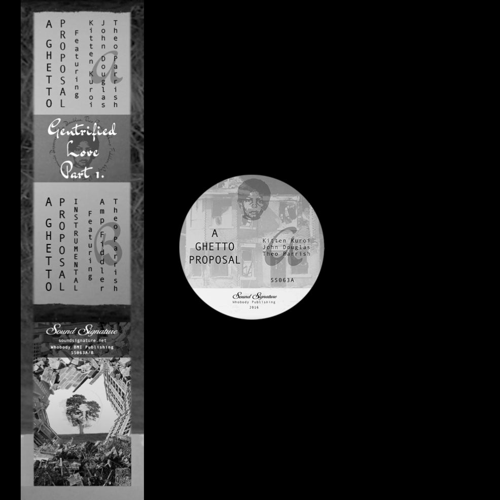 Theo Parrish and Amp Fiddler - Gentrified Love Part 1 , Vinyl - Sound Signature, Unearthed Sounds