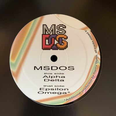 MsDos ‎- Spandangle Selection Volume 10 - Unearthed Sounds