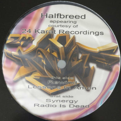 Halfbreed ‎- Spandangle Selection Volume 9 - Unearthed Sounds