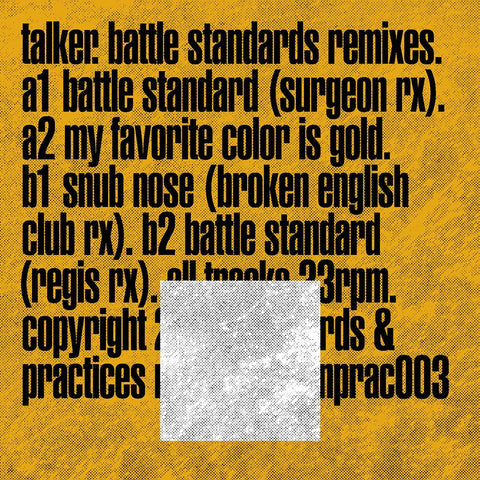Talker - Battle Standards Remixes [Silver Vinyl]