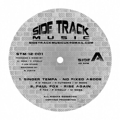 Singer Tempa / Paul Fox - No Fixed Abode / Rise Again - Unearthed Sounds