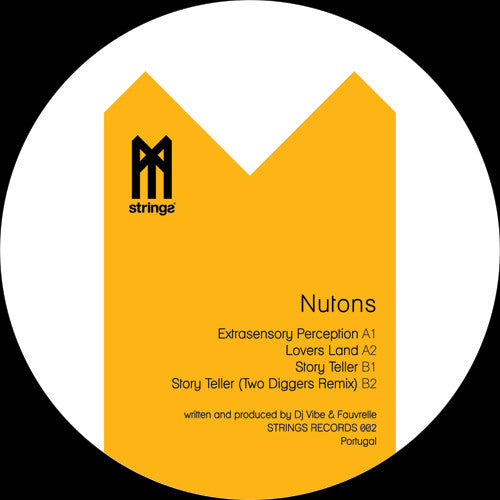 Nutons - Extrasensory Perception EP , Vinyl - Strings Records, Unearthed Sounds