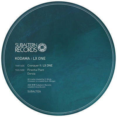 Kodama feat. LX One - Cronauer - Unearthed Sounds