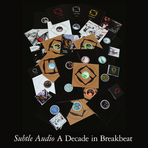 "Subtle Audio - A Decade In Breakbeat 3x12"" Vinyl"