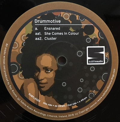Drummotive - Ensnared - Unearthed Sounds, Vinyl, Record Store, Vinyl Records