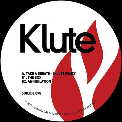 "Klute - Take a Breath (Remix) [Solid Red 12"" Vinyl] - Unearthed Sounds"