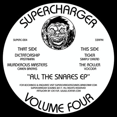 Supercharger Vol.4 - All The Snares EP