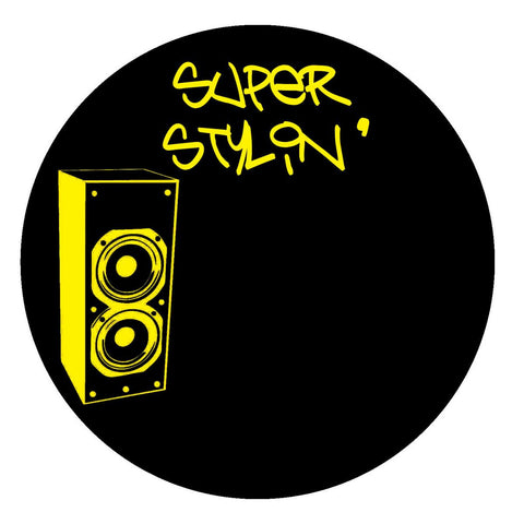 "Unknown Artist - Superstylin' Remixes [Transparent Hand-stamped 10"" Vinyl]"