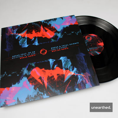 Break - Whispers In My Ear (Break Remix) / Dog's Dinner (Mefjus Remix) - Unearthed Sounds, Vinyl, Record Store, Vinyl Records