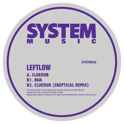 Leftlow - Cluedub / Boa / Cluedub (Skeptical Remix) - Unearthed Sounds