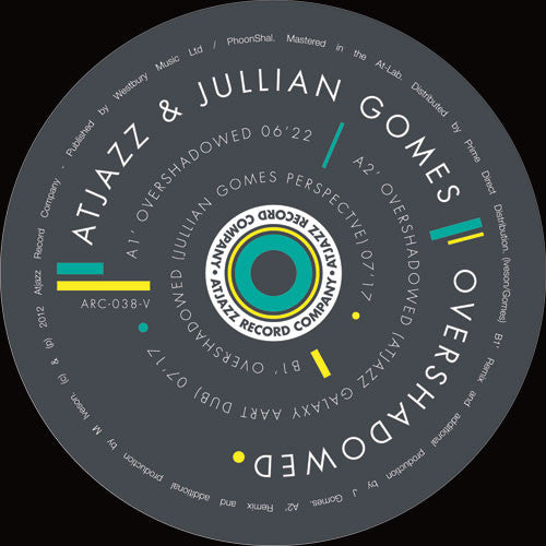 Atjazz & Jullian Gomes - Overshadowed - Unearthed Sounds