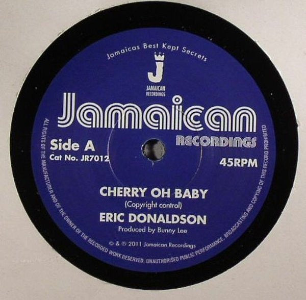 Eric Donaldson - Cherry Oh Baby / Version - Unearthed Sounds