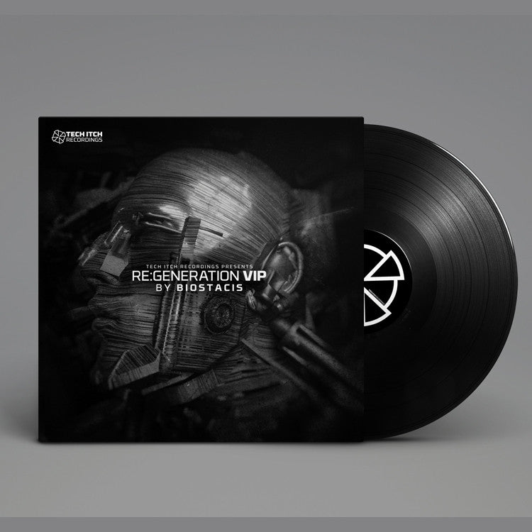 Technical Itch & Ice Minus Present Biostacis - Re:Generation 2xLP , Vinyl - Tech Itch Recordings, Unearthed Sounds