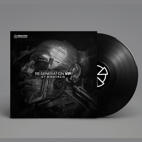 Technical Itch & Ice Minus Present Biostacis - Re:Generation 2xLP