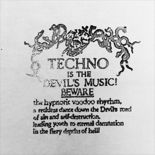 D.Dan - TITDM01 , Vinyl - Techno Is The Devils Music, Unearthed Sounds