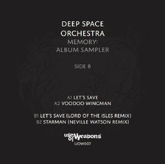Deep Space Orchestra - Memory LP Sampler - Unearthed Sounds