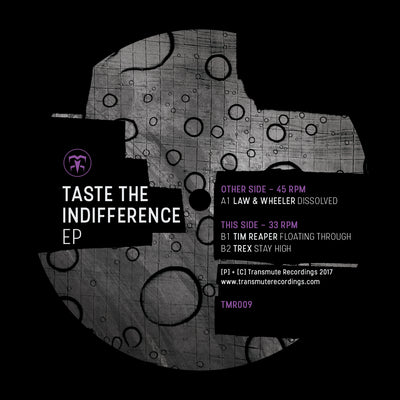 Law & Wheeler / Tim Reaper / Trex - Taste The Indifference EP - Unearthed Sounds, Vinyl, Record Store, Vinyl Records