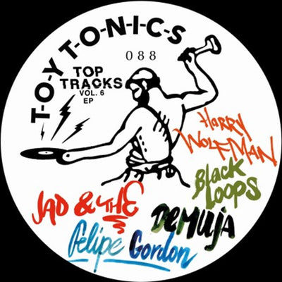 Various Artists - Top Tracks Vol. 6 EP - Unearthed Sounds