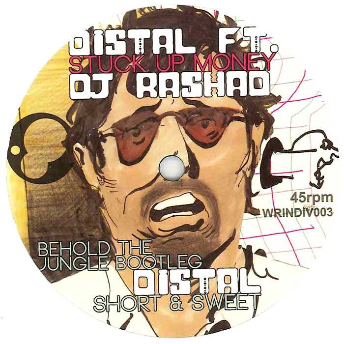Distal Ft. DJ Rashad - Stuck Up Money - Unearthed Sounds