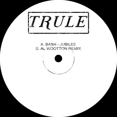 "Bash - Jubilee / Al Wootton Remix [Hand-stamped 10""] - Unearthed Sounds, Vinyl, Record Store, Vinyl Records"