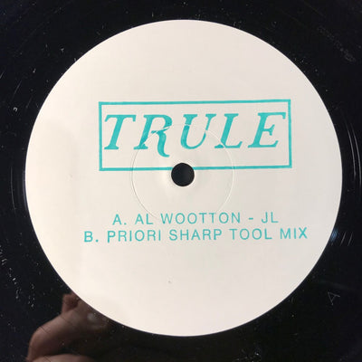 "Al Wootton - JL / (Priori Sharp Tool Mix) [10"" Vinyl] - Unearthed Sounds"