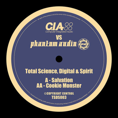 "Total Science, Digital & Spirit - Salvation / Cookie Monster [10"" Vinyl]"