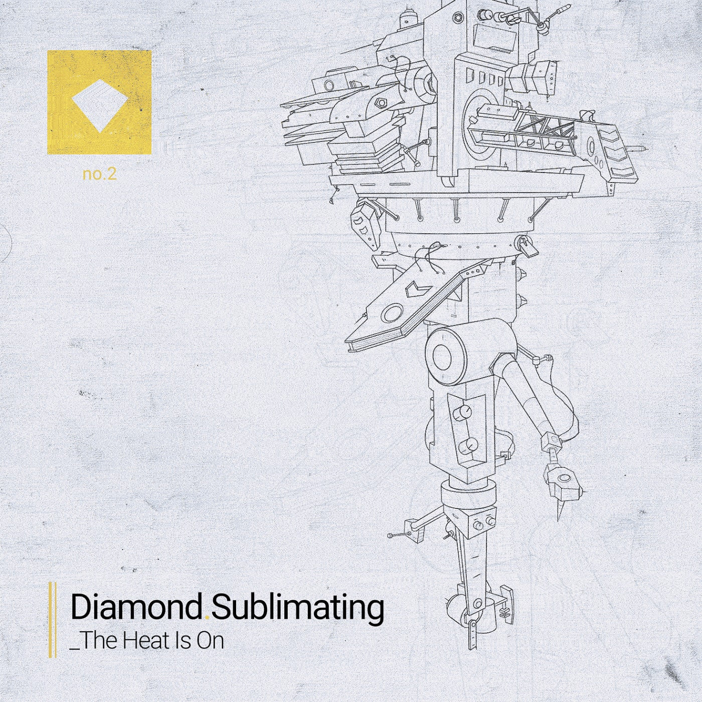 Diamond Sublimating - The Heat Is On EP (Cassette) , Cassette - Tapes Sublimating, Unearthed Sounds