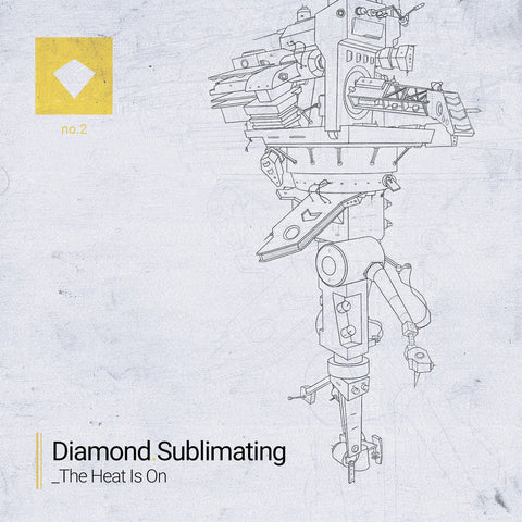 Diamond Sublimating - The Heat Is On EP (Cassette)